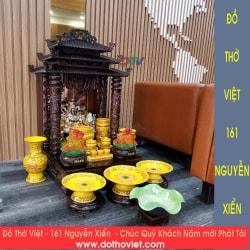 Bàn thờ thần tài thổ địa Nguyễn Xiển