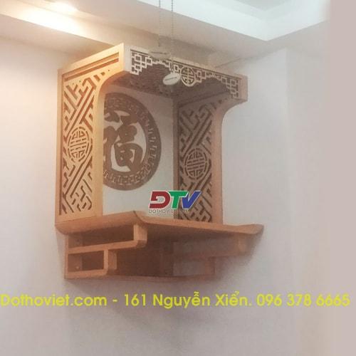 Bàn thờ treo tường chung cư mẫu TT09