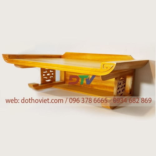 Bàn thờ gỗ mít treo tường tại dothoviet com