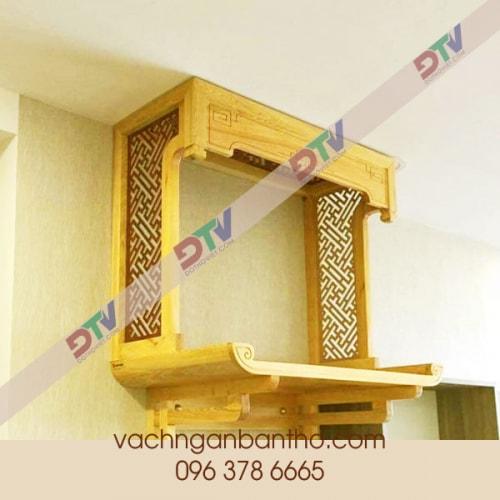Bàn thờ treo tường số 161 Nguyễn Xiển