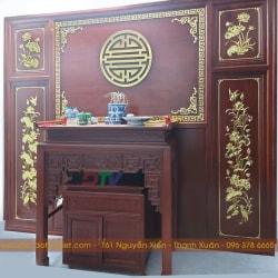 Thiết kế thi công phòng thờ đẹp tại Hà Nội