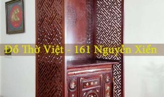 Các phương án thiết kế bàn thờ trong phòng khách thịnh hành nhất